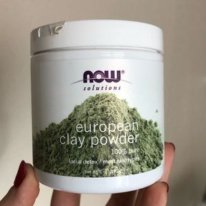 FREE with purchase NEW European Clay Powder mask